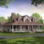 Nice House Plan Wrap Around Porch Country