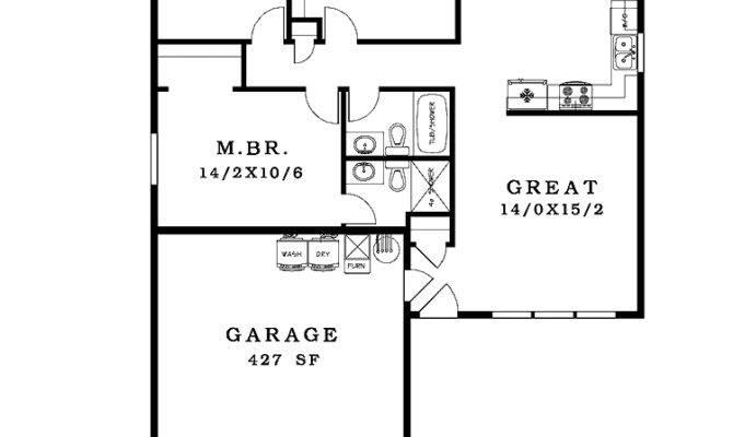 Nice Simple House Plan Floor