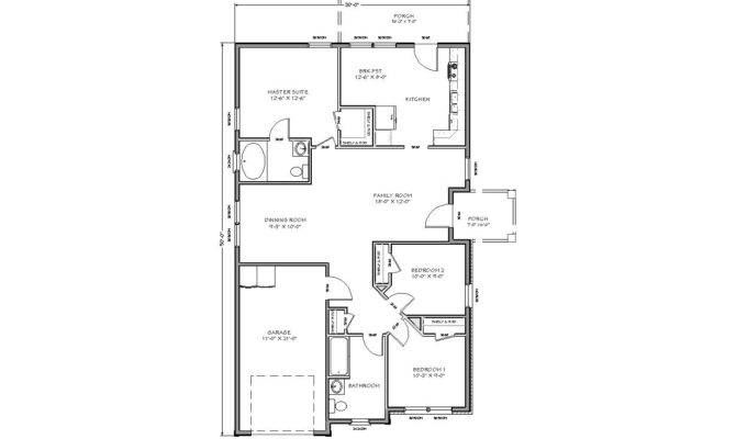 Nice Small Homes Plans House Floor Plan