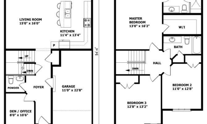 Nice Small Story House Plans Two Floor