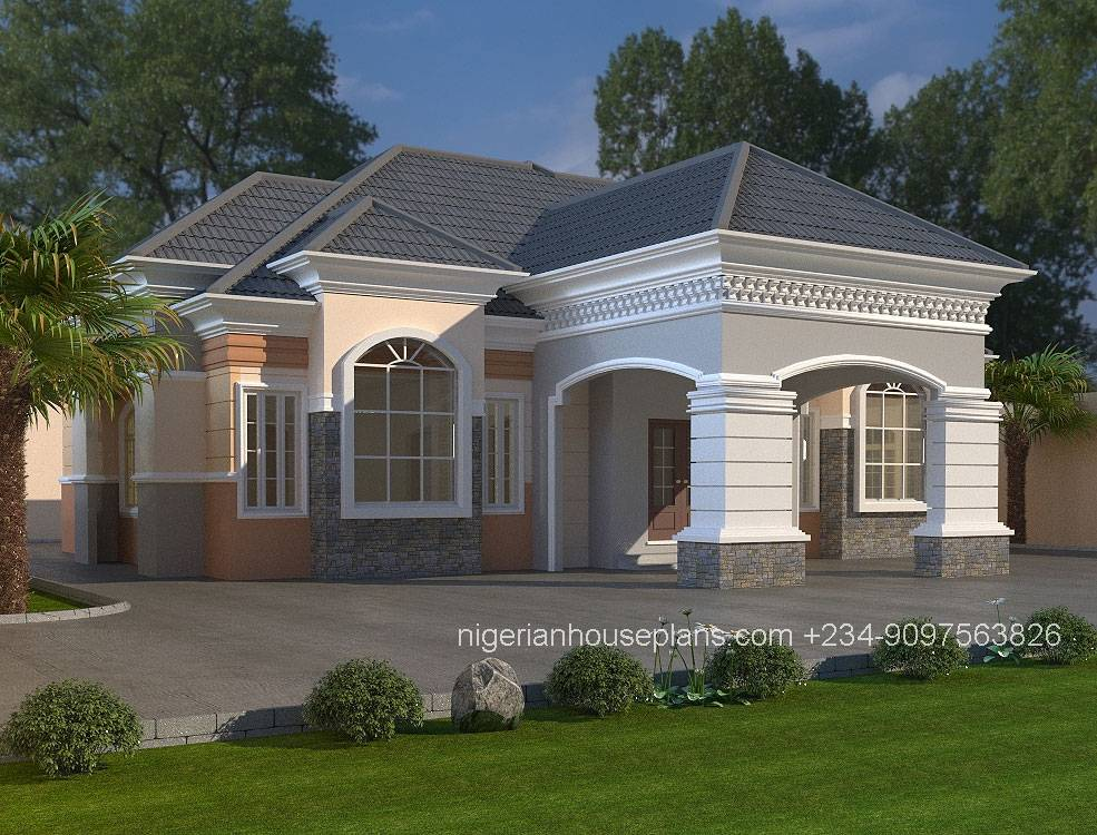 Nigeria Bedroom House Plans Photos Escortsea