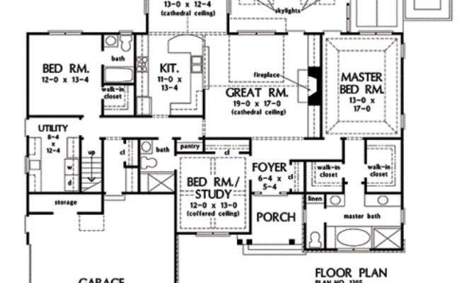 Norton House Plans First Floor Plan