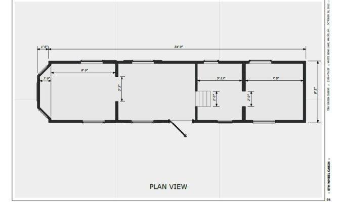 Not Tiny House Plan Green Cabins