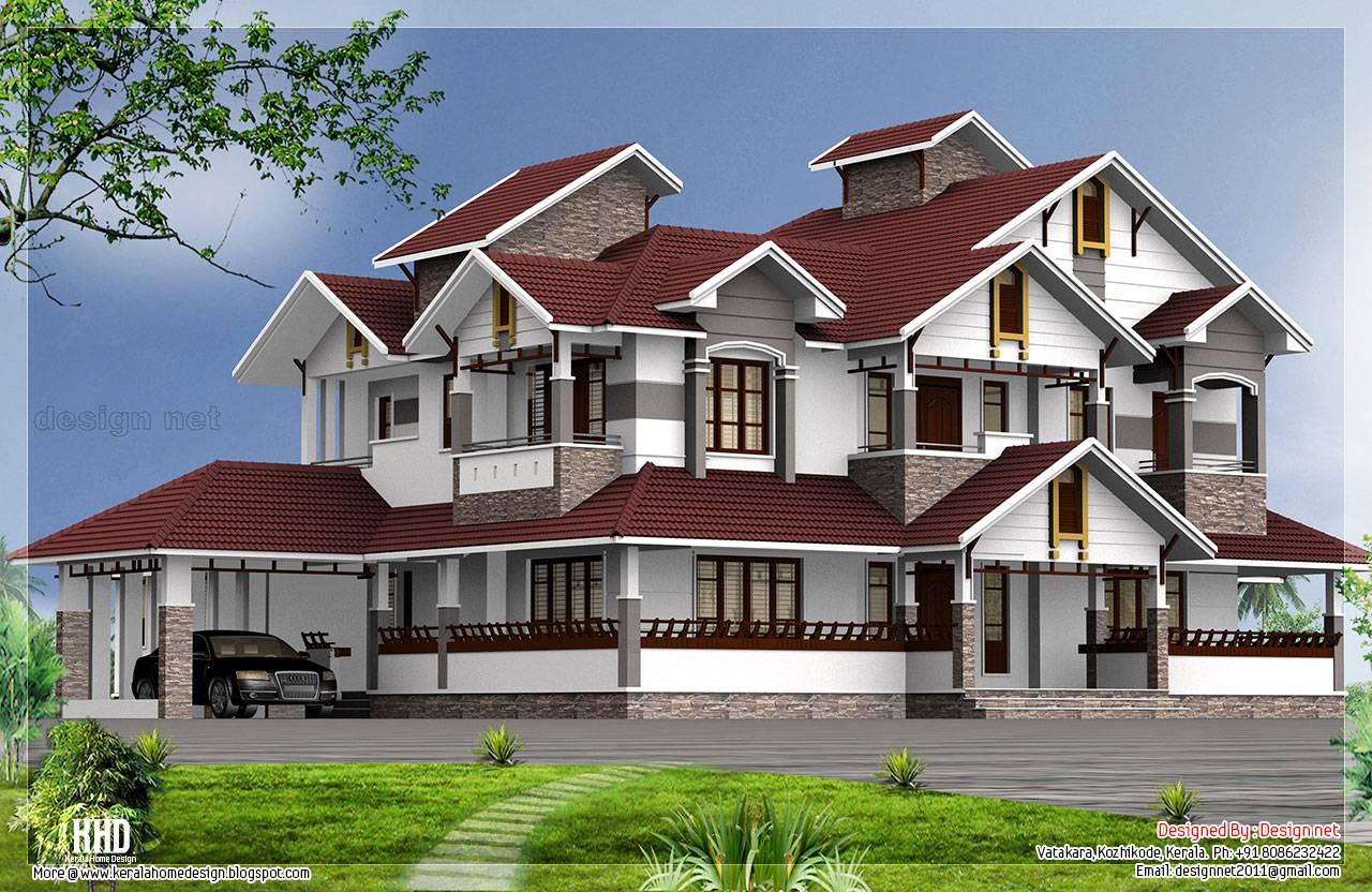 November Kerala Home Design Floor Plans