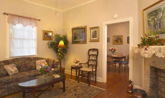 Oak Alley Plantation Cottage Interior Living Room
