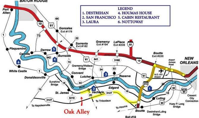 Oak Alley Plantation Floor Plans Oakalleyplantation