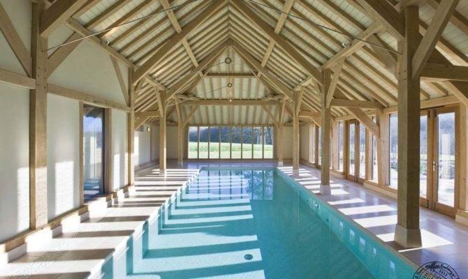 Oak Framed Garage Swimming Pool House Barn