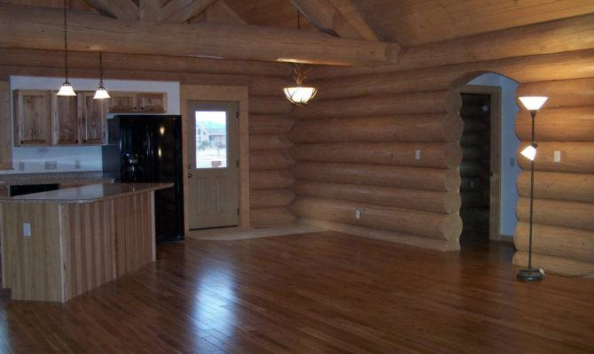 Oak Wood Flooring Cowboy Log Homes