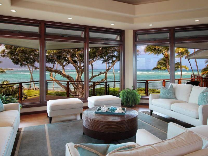 Oceanfront Residence Hawaii Displaying Creative Design Approach