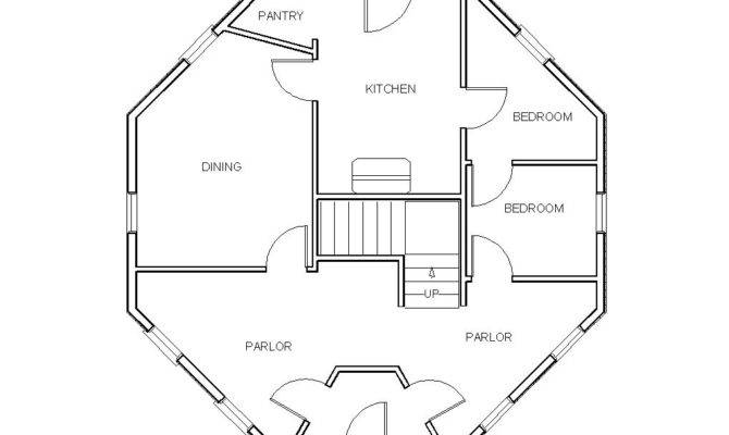 Octagon House Plans Joy Studio Design Best