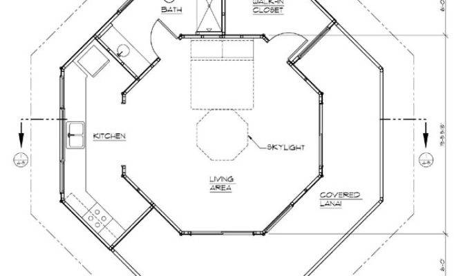 Octagonal House Plans Find
