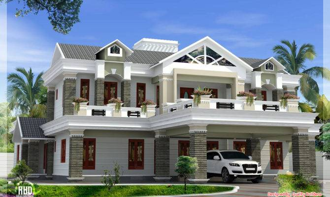 October Kerala Home Design Floor Plans