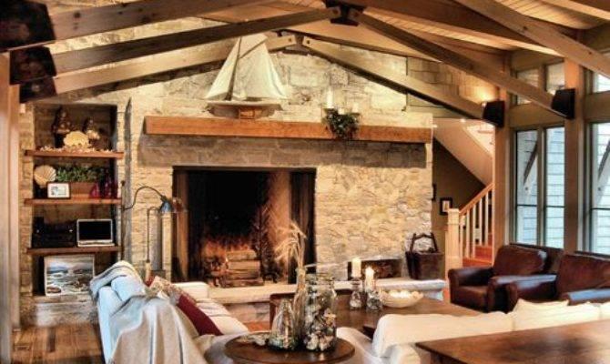 Off Center Fireplace Houzz