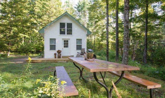 Off Grid Cozy Cottage Woods Vermont