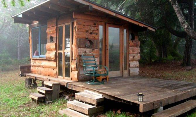 Off Grid Tiny House Deep Carolina Woods Built