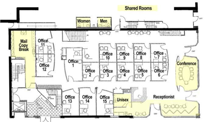 Office Floor Plan Central Executive Suites