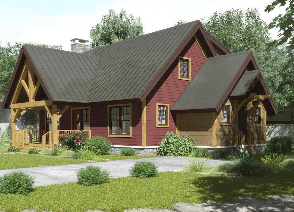 Ohio Timber Frame Homes Chestnut Frames