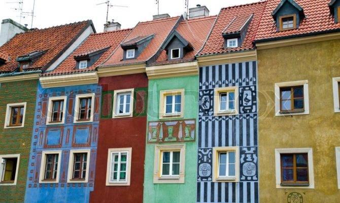 Old European Houses Poland Colourbox