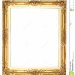 Old Style Goldern Wood Frame