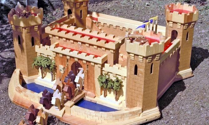 Old World Castle Woodworking Plan Forest Street Designs