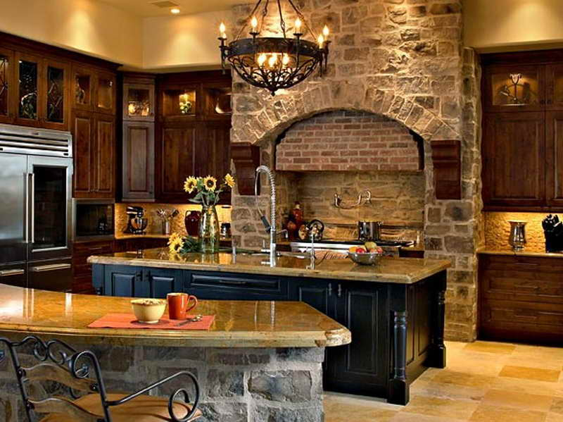 Old World Kitchen Ideas Traditional Design Home