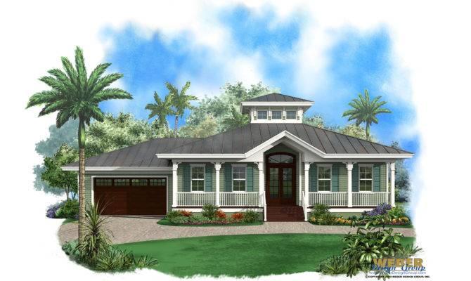 Olde Florida House Plan Ambergris Cay Weber Design