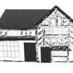 Ond Tudor House Drawing