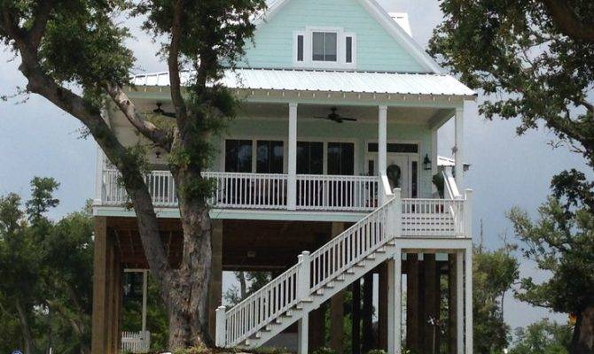 One Beachfront House Plans Pinterest