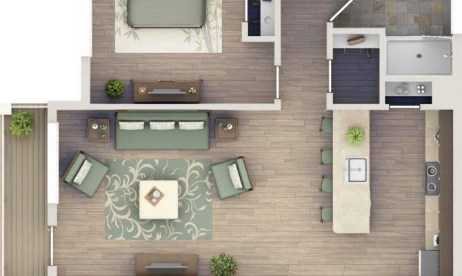 One Bedroom Apartments Zero Village