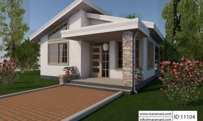 One Bedroom House Design Floor Plans Maramani