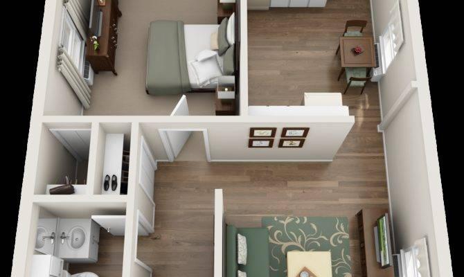 One Floor Apartments Home Design