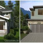 One Home Plan Two Styles Castleview Blog