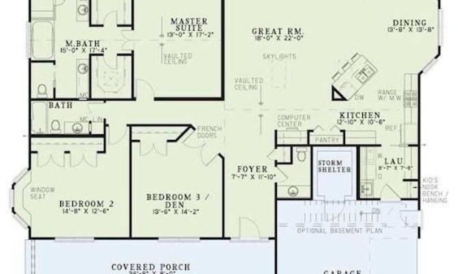 One Level House Plans Basement Inspirational Best