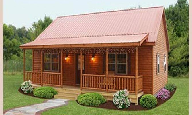 One Level Log Home Plan Sensational Nice Plans Planning
