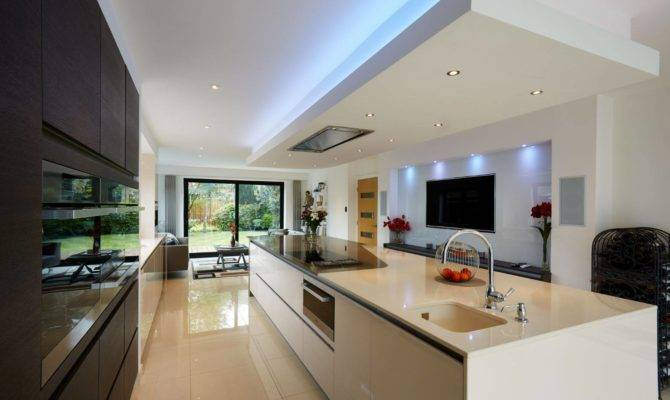 One Our Open Plan Kitchen Living Dining Spaces