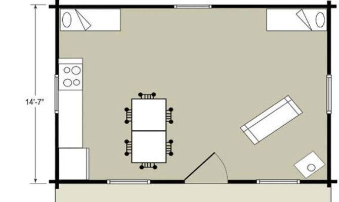 One Room Guest House Plans Home Deco