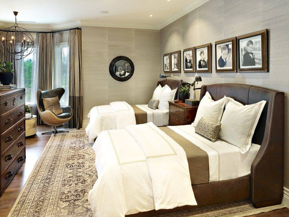 One Room Two Beds Shared Bedroom Ideas Photogallery