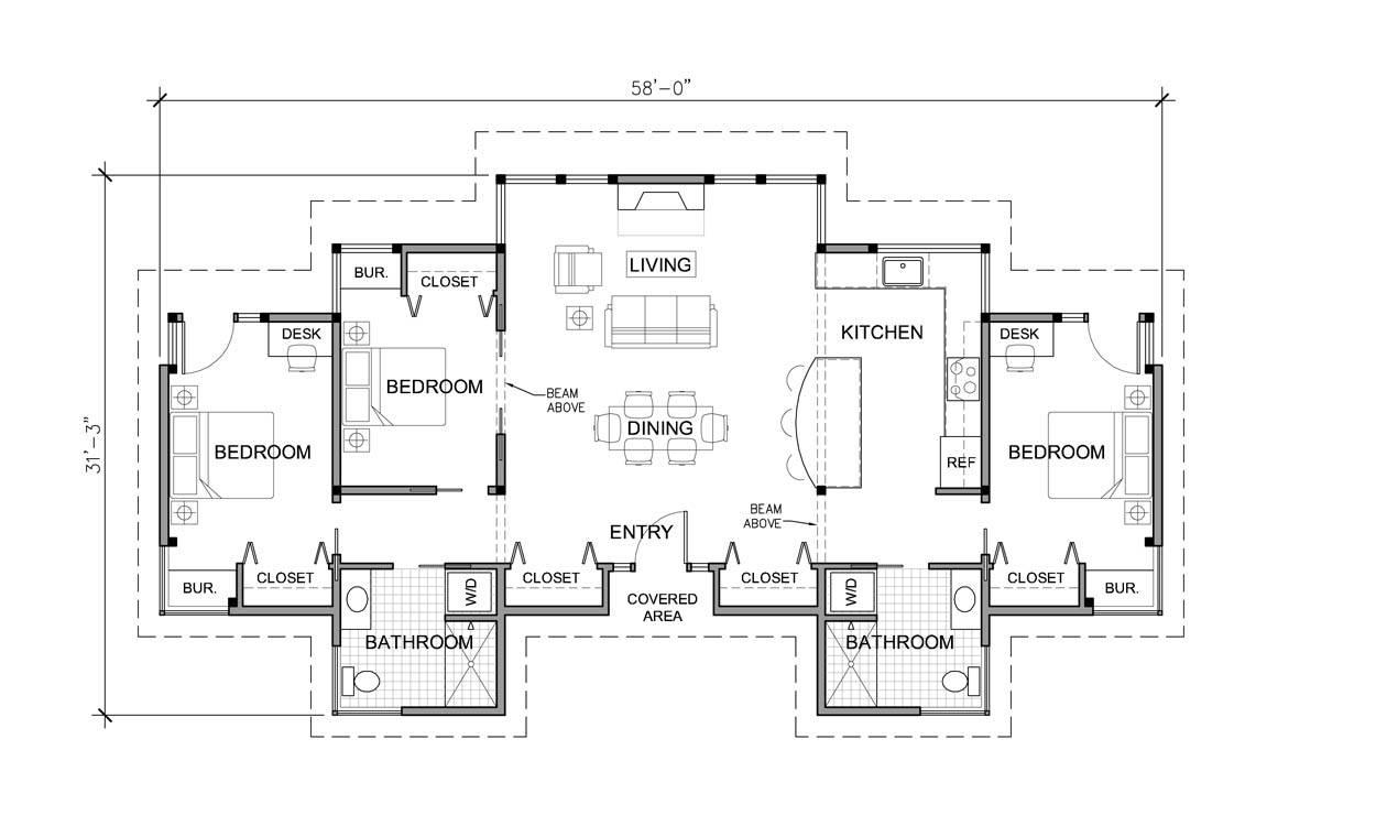 One Storey Modern House Plans Homes Floor