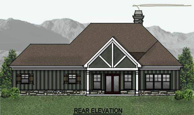 One Story Cottage House Plan Plans Pinterest