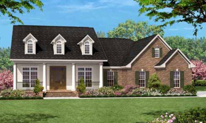 One Story Country Style House Plans Bonus Room