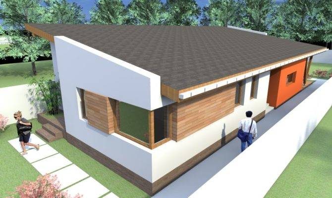 One Story House Plans Modern