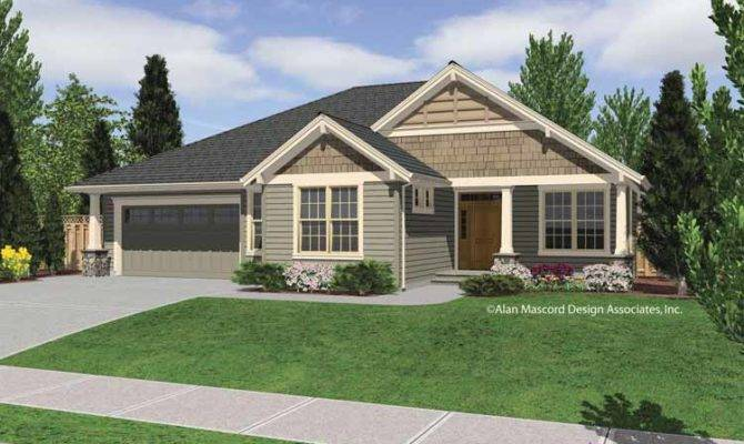 One Story House Plans Under Cottage