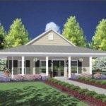 One Story House Wrap Around Porch Dream