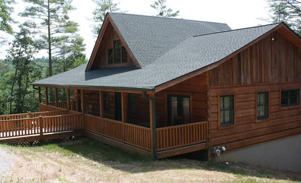 One Story Plans Wood House Log Homes Llc