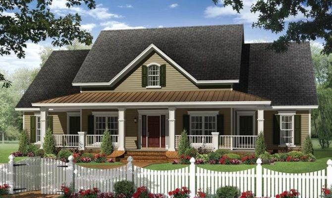 One Story Small Country House Plans