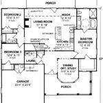 One Story Split Bedroom Floor Master Suite