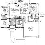 One Story Split Bedroom Home Plans Design Style