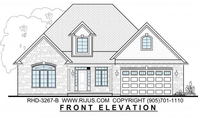 Ontario House Plans Rijus Home Design Ltd