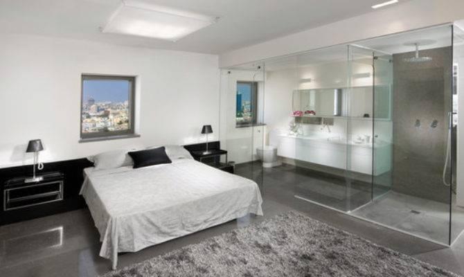 Open Bathroom Concept Master Bedrooms