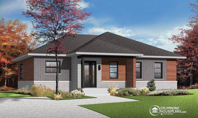 Open Concept Bungalow House Plans Submited